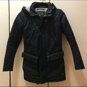 Used, RAW G-Star Navy Blue Winter Coat Jacket for sale